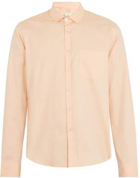 Martine Rose Single-cuff long-sleeved cotton shirt