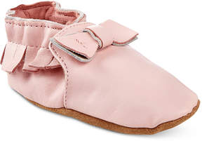 Robeez Baby Girls' Moccasin Maggie Shoes
