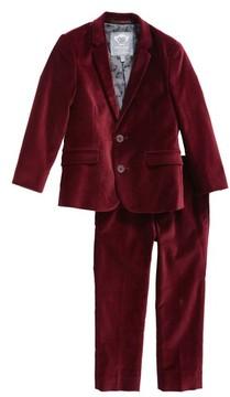 Appaman Toddler Boy's Mod Velvet Suit