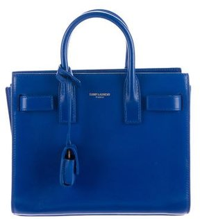 Saint Laurent Baby Sac de Jour - BLUE - STYLE