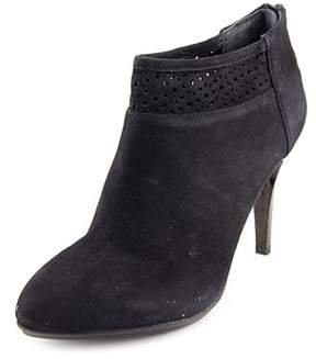 Alfani Womens Saille Suede Pointed Toe Ankle Fashion Boots.