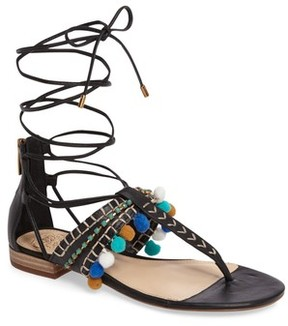 Vince Camuto Women's Balisa Embellished Lace-Up Sandal