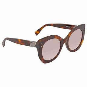 Fendi Pink Gradient Mirror Cat Eye Sunglasses FF 0265/S 086/NQ 52