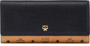 MCM Corina Visetos Three Fold Wallet
