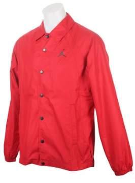Nike mens JSW WINGS COACHES JKT 882893-687_L - GYM RED/BLACK