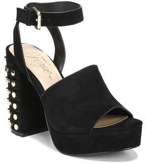 Fergie Jolie Studded Platform Ankle Strap Sandal