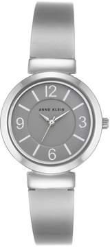 Anne Klein Gray Dial Silvertone Bracelet Watch