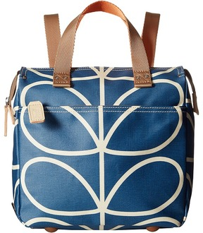 Orla Kiely Giant Linear Stem Small Backpack Backpack Bags