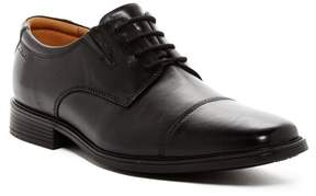 Clarks Tilden Cap Toe Leather Derby - Wide Width Available