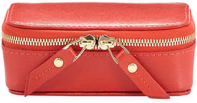 Neiman Marcus Large Saffiano Leather Pill Case