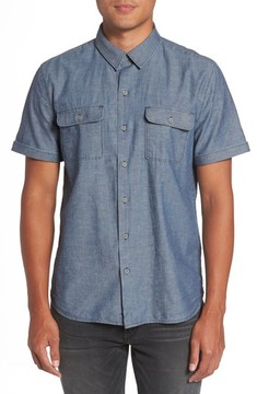 Paige Men's Flynn Lightweight Denim Shirt