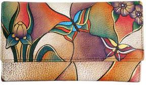 Anuschka Women's ANNA by Ladies Clutch Wallet 1701