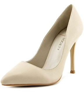 Sole Society Aiken Pointed Toe Leather Heels.
