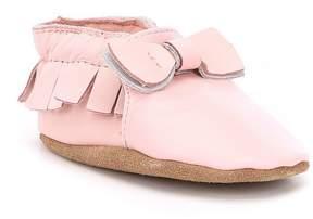 Robeez Baby Girls Newborn-24 Months Maggie Moccasin Shoes