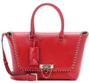 Valentino Demilune Small leather shoulder bag