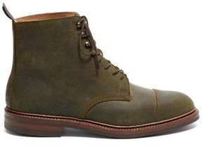 Crockett Jones Crockett & Jones Crockett and Jones Coniston Green Rough Out Suede