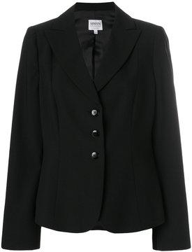 Armani Collezioni fitted blazer jacket