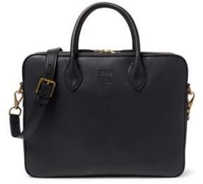 Ralph Lauren Leather Soft Gents Briefcase Black One Size