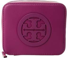 Tory Burch Charlie Medium Jewelry Case Wallet - PARTY FUCHSIA - STYLE