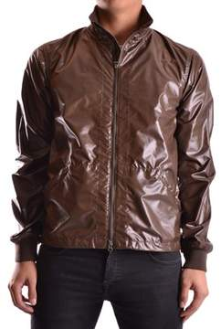 Aspesi Men's Brown Polyester Outerwear Jacket.