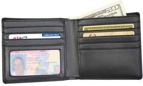 Royce Leather Double ID Hipster Wallet
