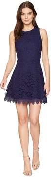 J.o.a. Open Back Fit Flare Dress Women's Dress