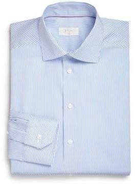 Eton Slim-Fit Bengal Stripe Dress Shirt