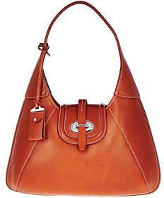 Dooney & Bourke As Is Florentine Toscana Front Stich Hobo Bag