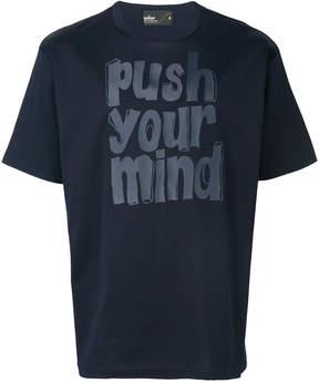 Kolor printed crew neck T-shirt