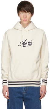 Off-White Aime Leon Dore Reverse Fleece Logo Hoodie