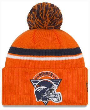 New Era Denver Broncos Diamond Stacker Knit Hat