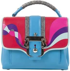 Paula Cademartori Blue Leather Handbag