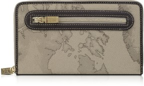 Alviero Martini Geo Print Zip Around Wallet