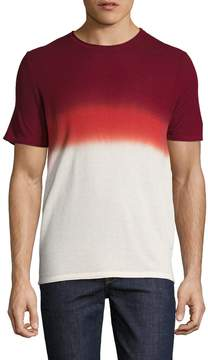 Parke & Ronen Men's Dip-Dye Short Sleeve Thermal Top