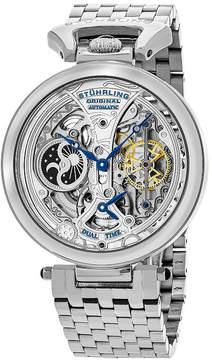 Stuhrling Original Mens Silver Tone Bracelet Watch-Sp15832