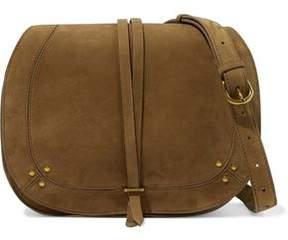 Jerome Dreyfuss Nubuck Shoulder Bag