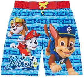 Trunks LICENSED PROPERTIES Paw Patrol Swim Trunk - Preschool Boys 4-7