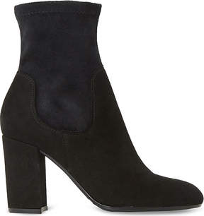Dune Oliah suede ankle boots