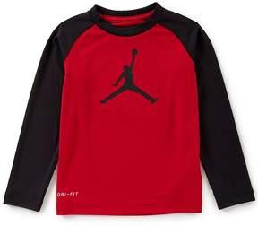 Jordan Little Boys 4-7 Jumbo Jumpman Dri-FIT Tee