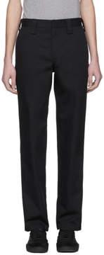 Acne Studios Black Astym Trousers
