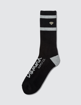 Diamond Supply Co. Dmnd High Stripe Socks
