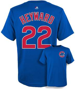 Majestic Boys 8-20 Chicago Cubs Jason Heyward Player Name and Number Tee