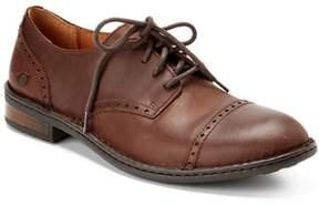 Børn dalton Leather Cap-toe Oxford.