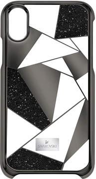 Swarovski Heroism Smartphone Case with Bumper, iPhone X, Black