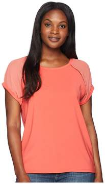 Bobeau B Collection by Isla Mixed Tee Women's T Shirt