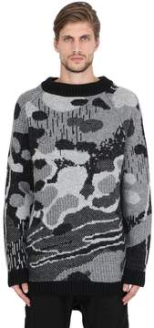 11 By Boris Bidjan Saberi Wool & Alpaca Blend Jacquard Sweater