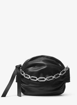 Michael Kors Lenox Leather Pouch - BLACK - STYLE