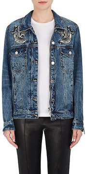 Blank NYC Blanknyc Women's Embroidered Denim Jacket