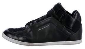 Y-3 Kazuhiri Leather Sneakers