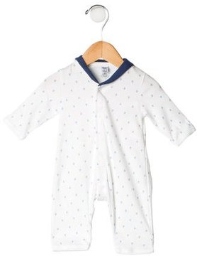 Petit Bateau Boys' Printed All-In-One